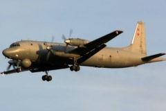 Ил-38 совершил аварийную посадку в Жуковском