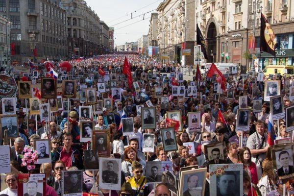 На шествие «Бессмертный полк» в Москве выйдет около миллиона человек