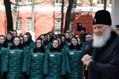 Патриарх Кирилл призвал быть милосерднее к заключенным