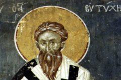 Церковь вспоминает святителя Евтихия, архиепископа Константинопольского