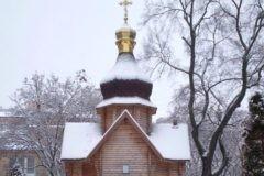 В Киеве подожгли храм в честь Иерусалимской иконы Божией Матери