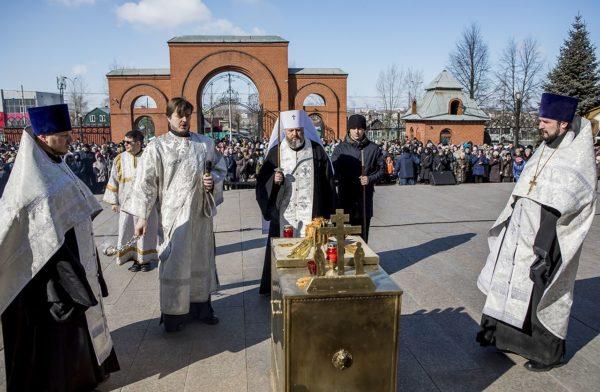 На девятый день со дня трагедии в Кемерово во всех российских храмах помолятся о погибших  при пожаре