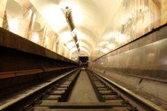 Сотрудник ОМОН спас упавшего на рельсы московского метро пенсионера