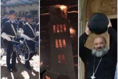 Веселая Пасха – пляшущий священник, самокат и регби без правил (видео)