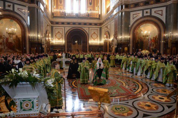 Патриарх Кирилл: Образ кротости  далек от псевдокультурных идеалов нашего времени, но над кротким человеком особое Божие покровительство