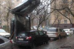 Ураган в Москве и области: два человека погибли, есть пострадавшие