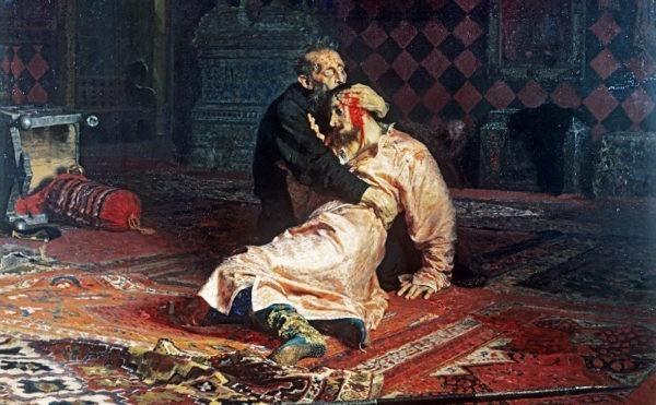 В Третьяковской галерее посетитель повредил картину «Иван Грозный и сын его Иван»