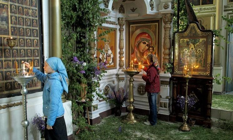 Храм сегодня становится садом, и в нем – знамение полноты