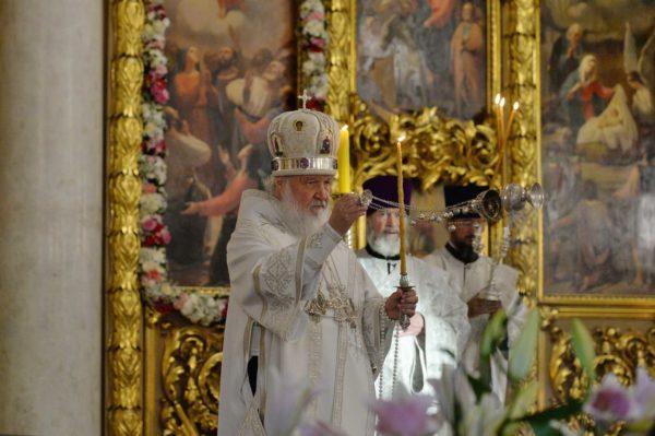 Патриарх Кирилл: «Вознесение — самый яркий аккорд земной жизни Богочеловека»