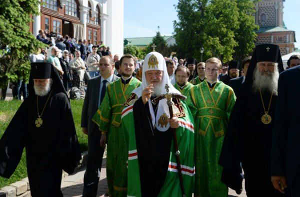 Патриарх Кирилл: Связь со Святым Духом — залог способности творить, когда физические силы истощаются
