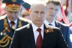 Президент России поздравил с Днем победы граждан Грузии и Украины