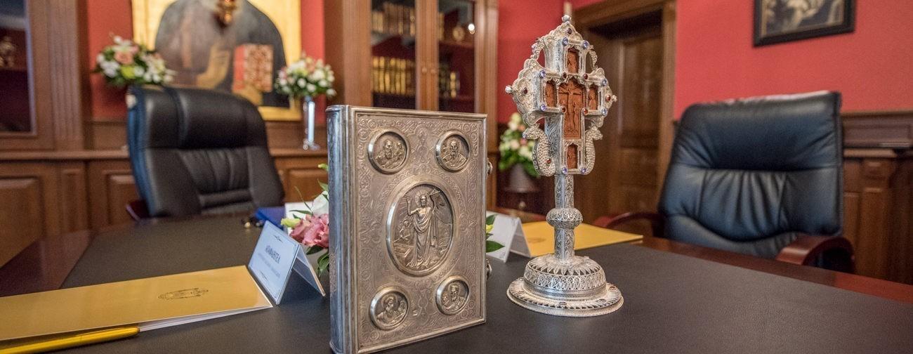 Журналы заседания Священного Синода Украинской Православной Церкви от 25 мая 2018 года