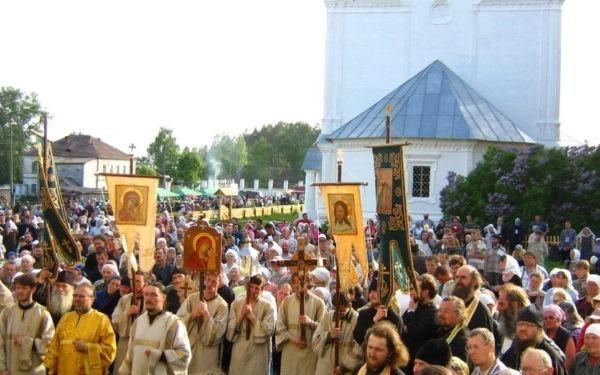 Великорецким крестным ходом пройдут 70 тысяч паломников