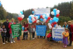 Женщины с детьми перекрыли Выборгское шоссе – в знак протеста из-за нехватки детских садов