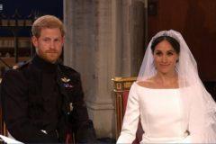 Принц Гарри женился на американской актрисе Меган Маркл