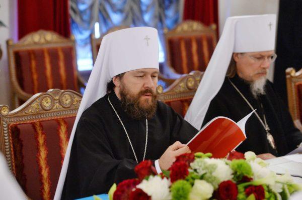 Митрополит Иларион: Все члены Синода выразили поддержку канонической Украинской Церкви