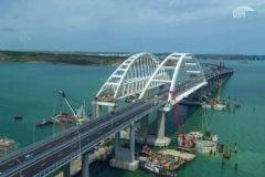 Крымский мост открыли для движения автотранспорта