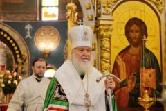 Патриарх Кирилл: Из состояния горя нас может вывести лишь сила Божия