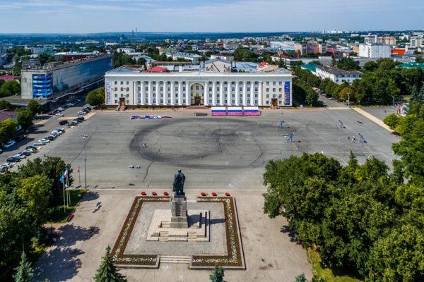 В Ульяновске площадь Ленина переименовали в Соборную