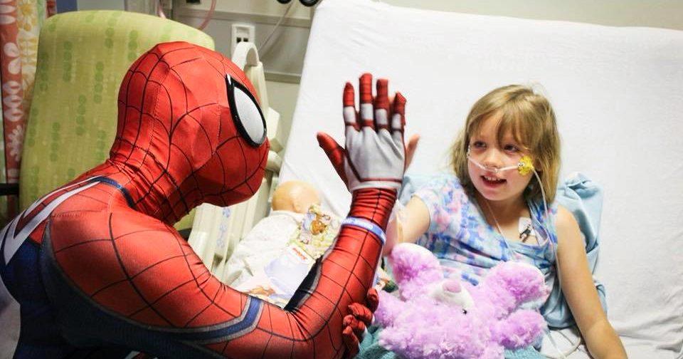 Больничный Человек-паук и обручальное кольцо из торгового автомата