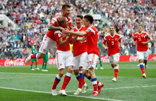 Россия победила Саудовскую Аравию встартовом матче ЧМсосчетом 5:0
