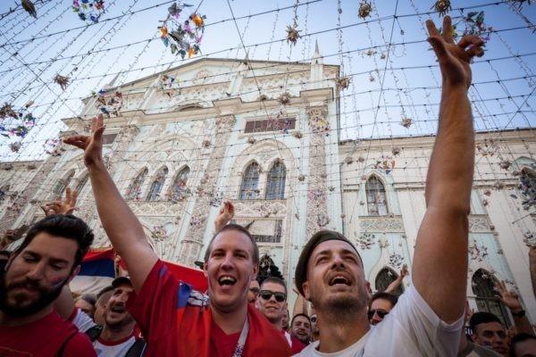 Футбол подарил нам праздник. И он продолжится до финала – в центре мира, на Никольской