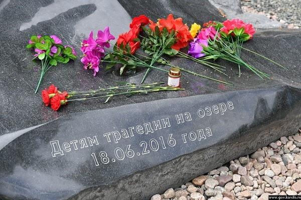 Память погибших на Сямозере детей почтили в Карелии