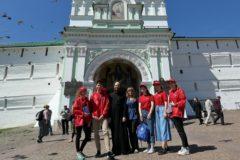 Спортивные волонтеры Троице-Сергиевой Лавры помогут болельщикам  во время ЧМ-2018