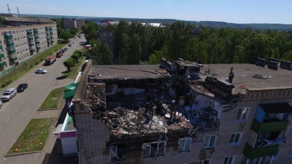 В Татарстане десять человек пострадали при взрыве газа в жилом доме