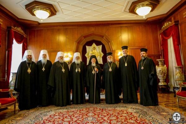 Церковный раскол на Украине нельзя легализовывать – встреча Вселенского Патриарха и митрополитов УПЦ