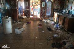 Ограблен и осквернен православный храм в Одессе