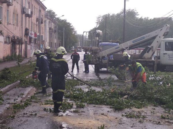 На Прикамье и Поволжье обрушился ураган