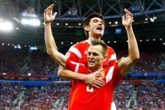 Россия победила Египет в матче чемпионата мира со счетом 3:1