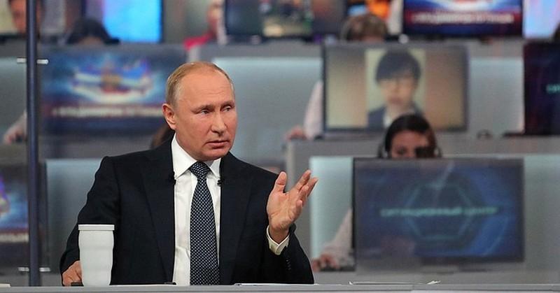 Прямая линия Владимира Путина — главное