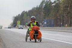 Путешественник-инвалид на хэндбайке проехал от Санкт-Петербурга до Владивостока