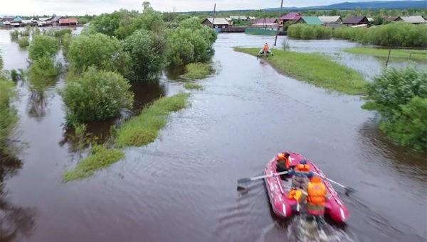 Паводок в Забайкалье: В зоне бедствия 5 тыс. человек, ущерб превысил миллиард рублей