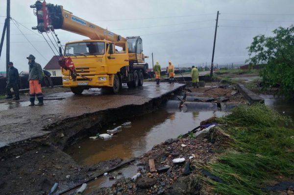SOS Забайкалье: Церковь помогает пострадавшим от паводка