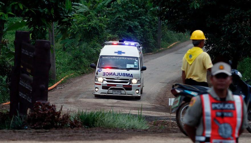 13 человек спасены в Таиланде — как это было