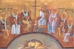 Церковь чтит памятьсвятых отцов шести Вселенских Соборов