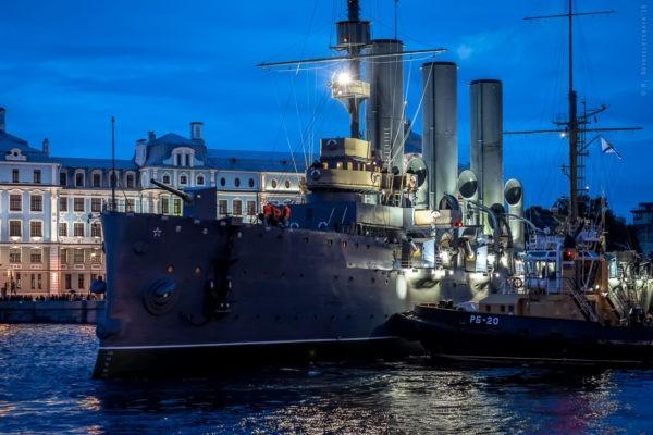 На крейсер «Аврора» вернулся корабельный храм – через 100 лет после закрытия