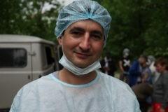 Доктор Женя: «Когда работаю на улице, я счастлив» – и почему для бездомных он использует лишь белые бинты