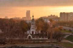В Москве ограблен храм Илии Пророка
