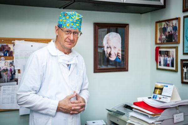 Профессор Владимир Николаевич Ильин, руководитель отделения детской кардиохирургии ДГКБ им. Филатова