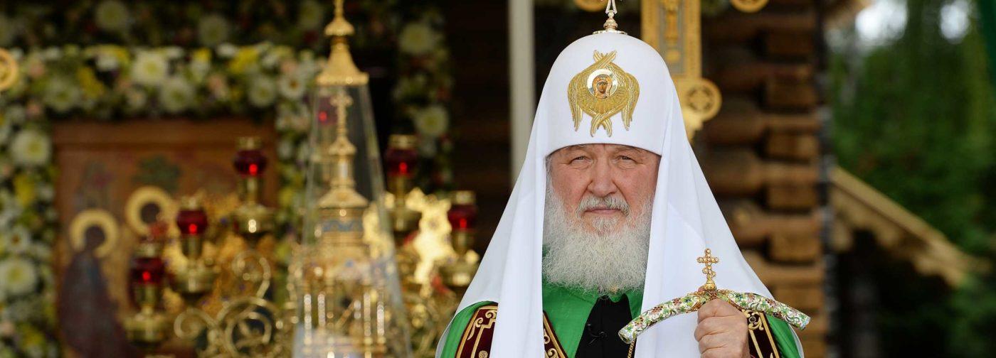 Патриарх Кирилл: Избрание Патриархом — это великий крест