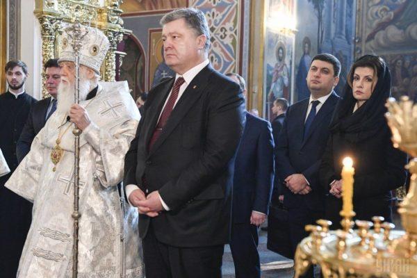 Президент Украины примет участие в крестном ходе раскольников