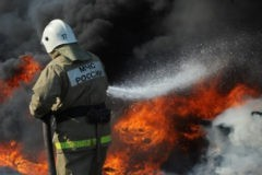 Жители Кемерово выступили в защиту пожарного, обвиненного по делу о пожаре «Зимней вишне»