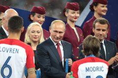Владимир Путин поблагодарил болельщиков и волонтеров за проведение ЧМ-2018