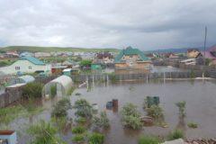 В Забайкалье режим ЧС из-за проливных дождей