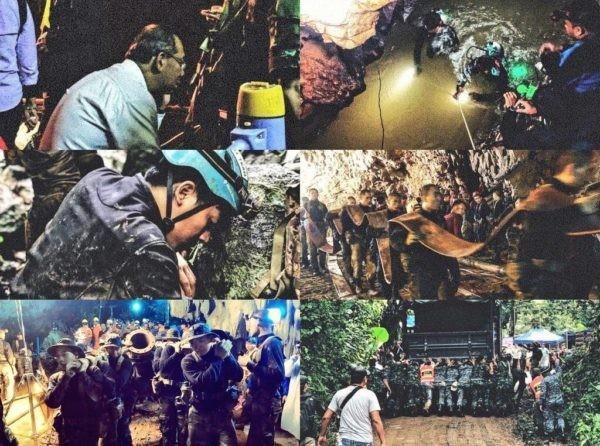 #13спасенных: весь мир переживает за детей в Таиланде