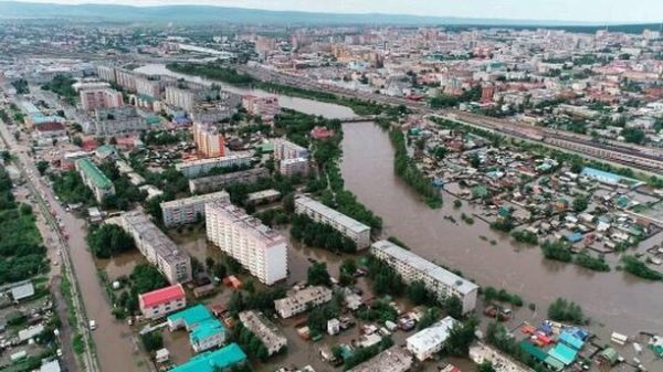Наводнение в Забайкалье: В Чите эвакуированы около 3 тысяч человек